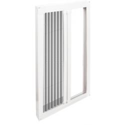 最新款式折叠隐形纱窗纱门