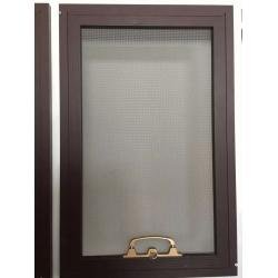金刚网纱窗,暗角30扇小金刚网防盗纱窗型材