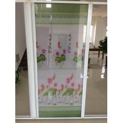 工程折叠隐形纱窗纱门厂家型材